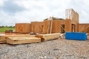 Image of new home construction